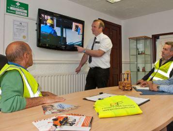 Forklift Operator Driving Training