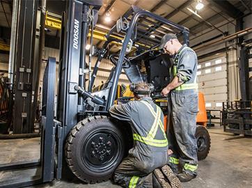 Forklift Truck Service